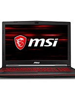 Недорогие -MSI Ноутбук блокнот GL63 8RE - 417CN 15.6 дюймовый IPS Intel i7 Intel Core i7-8750H 8GB 1TB / 128GB SSD GTX1060 6 GB Windows 10