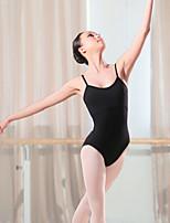abordables -Danse classique justaucorps Femme Entraînement / Utilisation Elasthanne / Lycra Croisé Sans Manches Collant / Combinaison