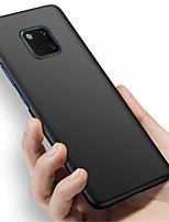 Недорогие -Кейс для Назначение Huawei Huawei Mate 20 Pro / Huawei Mate 20 Матовое Кейс на заднюю панель Однотонный Твердый ПК для Mate 10 / Mate 10 pro / Mate 10 lite / Mate 9 Pro