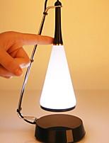 Недорогие -Простой Декоративная Настольная лампа Назначение Спальня Смола <36V Белый / Черный
