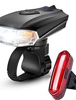 Недорогие -Передняя фара для велосипеда Светодиодная лампа Велосипедные фары Велоспорт Противо-туманное покрытие, Водонепроницаемый, Портативные Литий-ионная аккумуляторная батарея 1000 lm Перезаряжаемый Белый
