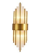 Недорогие -Хрусталь Простой Настенные светильники кафе / Офис Металл настенный светильник IP65 220-240Вольт 40 W