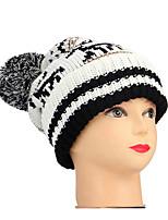 Недорогие -женская полиэфирная гибкая шляпа - цветной блок
