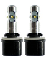 Недорогие -SENCART 2pcs 880/888 / T10 / H3 Автомобиль Лампы 25 W SMD LED 1000 lm 5 Светодиодная лампа Противотуманные фары / Внешние осветительные приборы Назначение