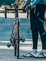 abordables -SANTIC Homme Pantalons de Cyclisme Vélo Pantalon / Surpantalon Pare-vent Couleur Pleine Noir / Rouge / noir / vert / Noir / bleu. Tenues de Cyclisme / Haute élasticité