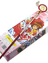 billiga -Mer accessoarer Inspirerad av Cardcaptor Sakura Sakura Kinomoto Animé Cosplay-tillbehör Pinne Legering Halloweenkostymer