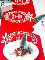 Недорогие -Праздничные украшения Рождественский декор Рождественские украшения Декоративная Красный / Темно-красный / Теплый белый 1шт