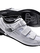 Недорогие -21Grams Обувь для велоспорта Дышащий, Ультралегкий (UL), Удобный Шоссейные велосипеды / Велосипеды для активного отдыха / Велосипедный спорт / Велоспорт Белый Муж.