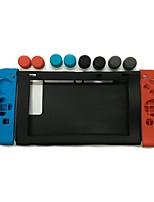 abordables -Kits d'accessoires de jeux Pour Nintendo Commutateur ,  Adorable Kits d'accessoires de jeux Silicone 11 pcs unité