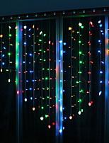 Недорогие -2м Гирлянды 124 светодиоды Разные цвета Декоративная 220-240 V 1 комплект