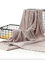 abordables -Qualité supérieure Serviette de bain, Points Polka Polyester / Coton Salle de  Bain 1 pcs