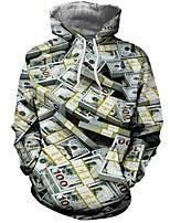 Недорогие -Вдохновлен Косплей Косплей Аниме Косплэй костюмы Косплей толстовки Рисунок / 3D-печати / Графические принты Длинный рукав Толстовка Назначение Муж. Костюмы на Хэллоуин