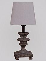 Недорогие -Традиционный / классический Декоративная Настольная лампа Назначение Спальня Дерево / бамбук 220 Вольт