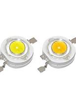 Недорогие -SENCART 10 шт. Мощный светодиод Своими руками / Аксессуары для ламп Алюминий LED чип Прозрачный для светодиодных прожекторов 1 W