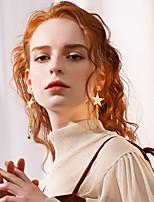 Недорогие -Жен. Классический Серьги-слезки - Простой, Мода Золотой / Серебряный Назначение Повседневные Свидание