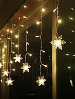abordables -2,5 m Guirlandes Lumineuses 12 LED Blanc Chaud Décorative 220-240 V 1 set