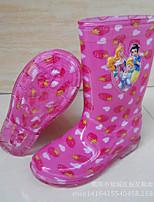 Недорогие -Мальчики / Девочки Обувь ПВХ Весна / Осень Удобная обувь Ботинки для Дети Красный / Тёмно-синий