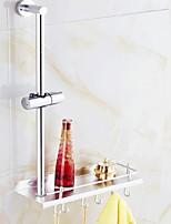 Недорогие -Полка для ванной Креатив Современный Алюминий 1шт На стену
