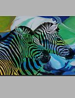 Недорогие -С картинкой Отпечатки на холсте - Натюрморт Современный / Modern