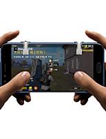 abordables -YX13 Gâchette de jeu Pour Android / iOS ,  Portable / Créatif / Design nouveau Gâchette de jeu ABS + PC 1 pcs unité