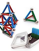 Недорогие -63 pcs 24*4mm, 8mm Магнитные игрушки Магнитные шарики Магнитные игрушки Сильные магниты из редкоземельных металлов металлический Магнитный / Стресс и тревога помощи