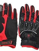 Недорогие -Полныйпалец Все Мотоцикл перчатки Кожа / Лайкра / Волокно Дышащий / Защитный