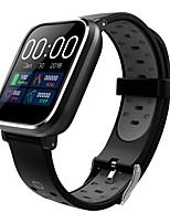 abordables -Indear Q58 Bracelet à puce Android iOS Bluetooth Sportif Imperméable Moniteur de Fréquence Cardiaque Mesure de la pression sanguine Ecran Tactile Podomètre Rappel d'Appel Moniteur d'Activité Moniteur