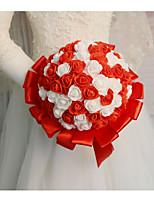 Недорогие -Свадебные цветы Букеты Свадьба / Свадебные прием Шелк / Поливинилхлорид 11-20 cm