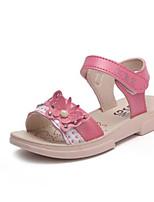 Недорогие -Мальчики / Девочки Обувь Микроволокно Лето Удобная обувь Сандалии для Дети (1-4 лет) Красный / Розовый
