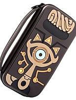 Недорогие -Zelda Slate Pack Сумки Назначение Nintendo Переключатель ,  Портативные / Новый дизайн / обожаемый Сумки Кожа PU 1 pcs Ед. изм