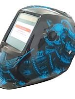 Недорогие -солнечный авто потемнение сварочный шлем широкий экран синяя магия