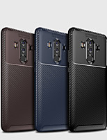 abordables -Coque Pour Huawei Huawei Mate 20 Lite / Huawei Mate 20 Pro Dépoli Coque Couleur Pleine Flexible TPU pour Mate 10 / Mate 10 pro / Mate 10 lite