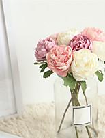Недорогие -Искусственные Цветы 1 Филиал Классический Свадьба / Свадебные цветы Камелия Букеты на стол