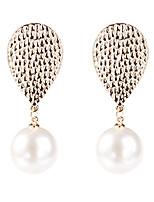 abordables -Femme Classique Boucles d'oreilles - Fleur Mode Blanc Pour Soirée Quotidien