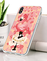 abordables -Coque Pour Apple iPhone XS Max Ultrafine / Motif Coque Flamant / Animal Flexible TPU pour iPhone XS Max