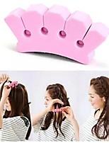 Недорогие -Инструмент для волос Композит Плойка Декорации Легко для того чтобы снести / Лучшее качество 2 pcs Повседневные Мода