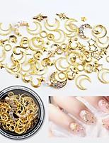 Недорогие -1 pcs Стразы для ногтей Многофункциональный / Лучшее качество MOON Звезда маникюр Маникюр педикюр Повседневные модный / Мода