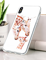 abordables -Coque Pour Apple iPhone XS Max Ultrafine / Motif Coque Animal Flexible TPU pour iPhone XS Max