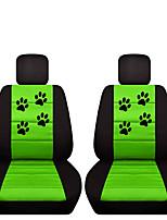 Недорогие -Чехлы на автокресла Чехлы для сидений Красный / Зеленый / Синий Ткань Деловые / Мультяшная тематика Назначение Универсальный Универсальный Универсальный