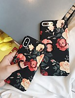abordables -Coque Pour Apple iPhone XR / iPhone XS Max Anneau de Maintien / Motif Coque Fleur Dur PC pour iPhone XS / iPhone XR / iPhone XS Max