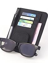 abordables -de ran fu vidéovisor pour fente pour carte de billet de voiture en cuir fente pour carte litchi couleur 4 haute vitesse / essence