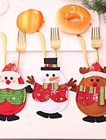 Недорогие -Праздничные украшения Новый год / Рождественский декор Рождественские украшения Декоративная / Оригинальные / Милый Образец 3шт