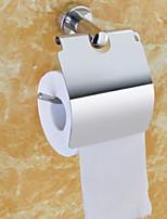 Недорогие -Держатель для туалетной бумаги Креатив Современный Нержавеющая сталь 1шт На стену