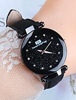 Недорогие -Жен. Наручные часы Кварцевый Черный / Синий / Красный Повседневные часы Аналоговый Дамы Мода - Зеленый Синий Розовый