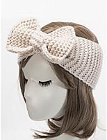 Недорогие -Жен. Классический / Праздник Широкополая шляпа Однотонный
