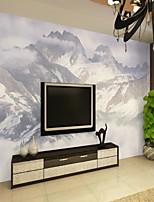 Недорогие -обои / фреска холст Облицовка стен - Клей требуется Живопись / Ар деко / 3D