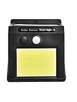 Недорогие -1шт 5 W Солнечный свет стены Водонепроницаемый / Работает от солнечной энергии / Инфракрасный датчик Белый 5 V Уличное освещение / двор / Сад 1 Светодиодные бусины