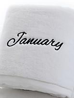 abordables -Qualité supérieure Serviette de bain, Citations & Dictons Polyester / Coton Salle de  Bain 1 pcs