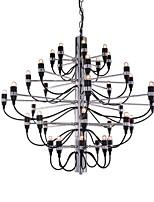 billiga -Ecolight™ Candle-stil / Sputnik Ljuskronor Glödande Elektropläterad Metall Kreativ, Ny Design, stearinljus stil 110-120V / 220-240V Glödlampa inte inkluderad / E12 / E14 / FCC