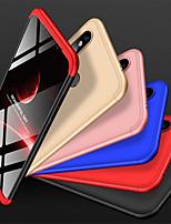 Недорогие -Кейс для Назначение Xiaomi Mi 8 SE Защита от удара / Матовое Кейс на заднюю панель Однотонный Твердый ПК для Xiaomi Mi 8 SE